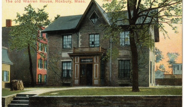 Walking Tour of Roxbury's Historic Buildings